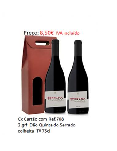 SORTIDO REF. 708  2x Dão Serrado 75cl